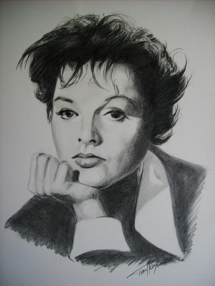 Judy Garland by Tom-Heyburn